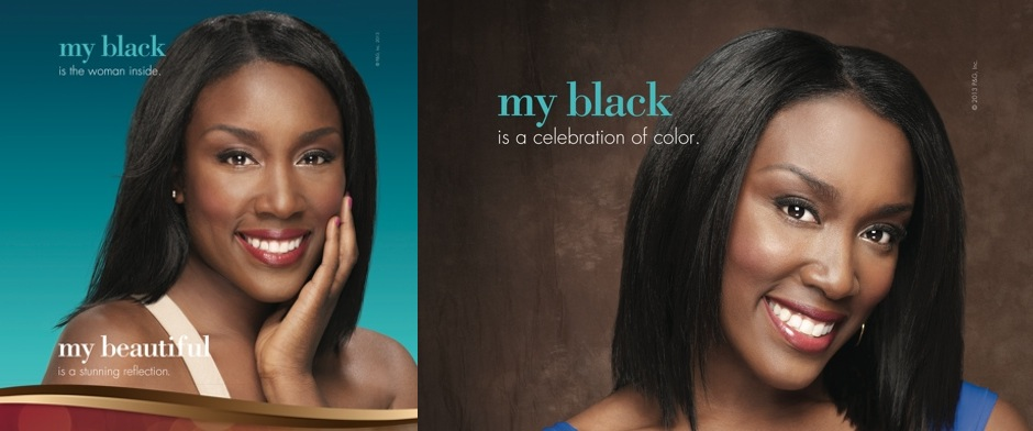ATG Malynda Hale in a Procter & Gamble national campaign - My Black Is Beautiful -