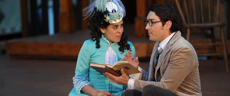 ATG Luke Daigle as Luciento in Taming of the Schrew - Montana Shakespeare in the Park